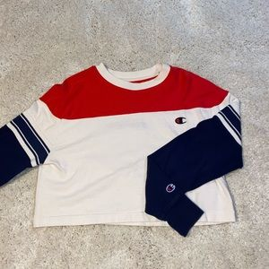 Cropped champion long sleeve